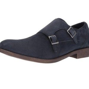 Kenneth Cole Reaction Shoes - Kenneth Cole Reaction Navy Suede Loafers